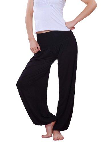 Hoter Women's Elastic Waistband Fitness/Yoga Harem Pants
