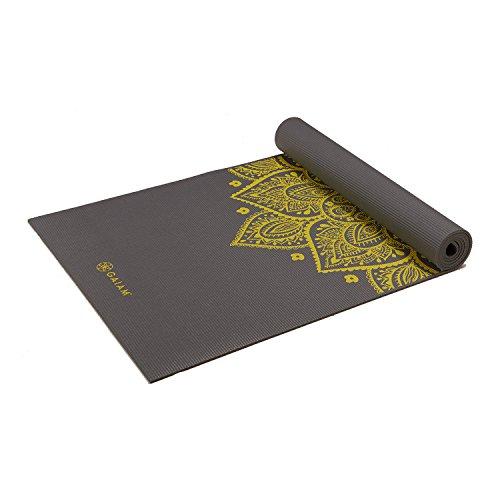 Gaiam Sundial Print Yoga Mat
