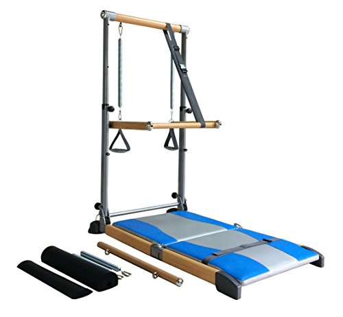 Beverly Hills Fitness Supreme Pilates Pro SPP089 with Ballet Barre, Toning Tower, Yoga Pad and DVDs