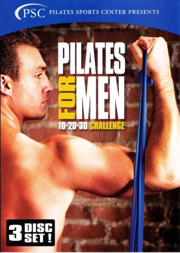 Pilates for Men (3-Disc Set)